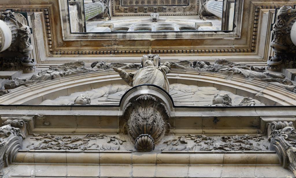 Détail architectural de la cathédrale Notre-Dame