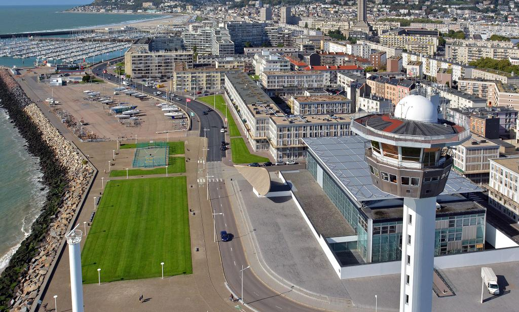 The southern sea front le havre