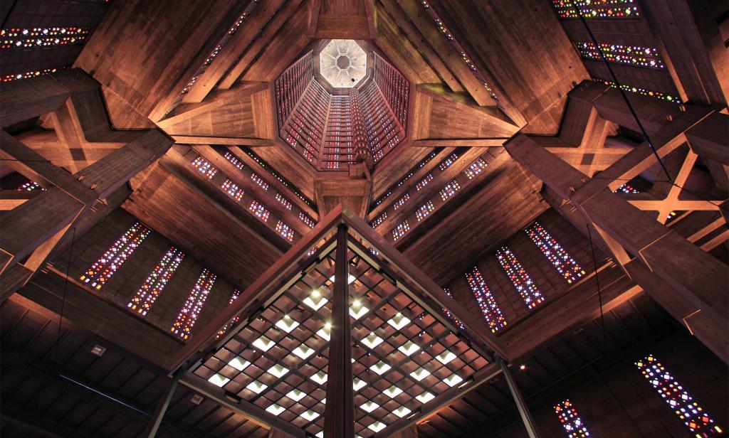 Saint-Joseph's church: Inside View.