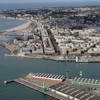 vue aérienne de la ville du Havre