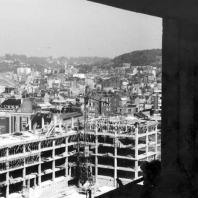 La Porte Océane depuis le haut de la tour, 1952.