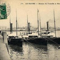 Kollektion French Lines, Schiffe nach Trouville - Honfleur