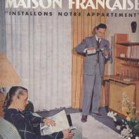 Couverture Maison Française, mobilier Gascoin 1950