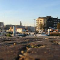 Le port de pêche, entre centre reconstruit et patrimoine ancien