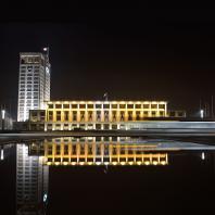 L'Hôtel de Ville de nuit