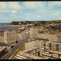 La Porte Océane, carte postale, 1954