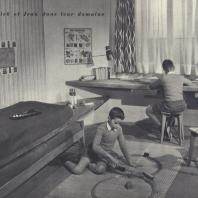 Chambre des enfants, René Gabriel