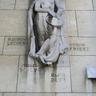 Bas-relief de la Maison des Artistes