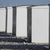 Les cabanes de plage, une véritable institution locale