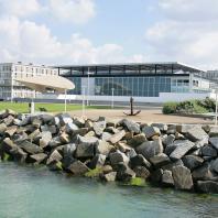 Musée André Malraux depuis la mer