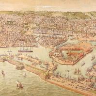 Le Havre vers 1890