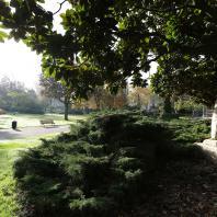 Le jardin romantique du sqaure Saint-Roch