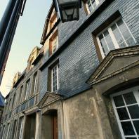 Détail architectural du musée Hôtel Dubocage de Bléville