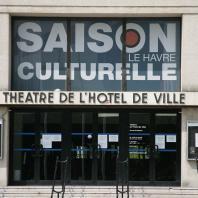 Façade du théâtre de l'Hôtel de Ville