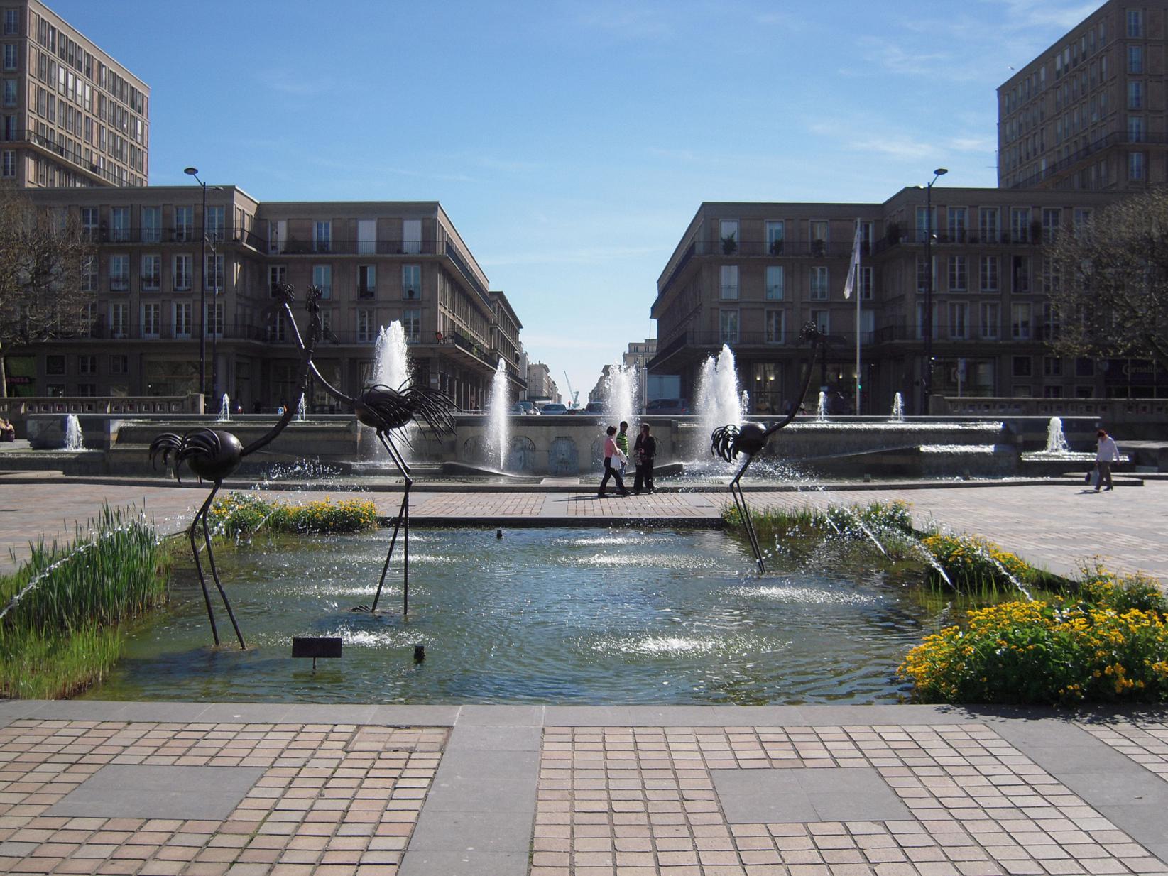 La Place De L H 244 Tel De Ville Le Havre