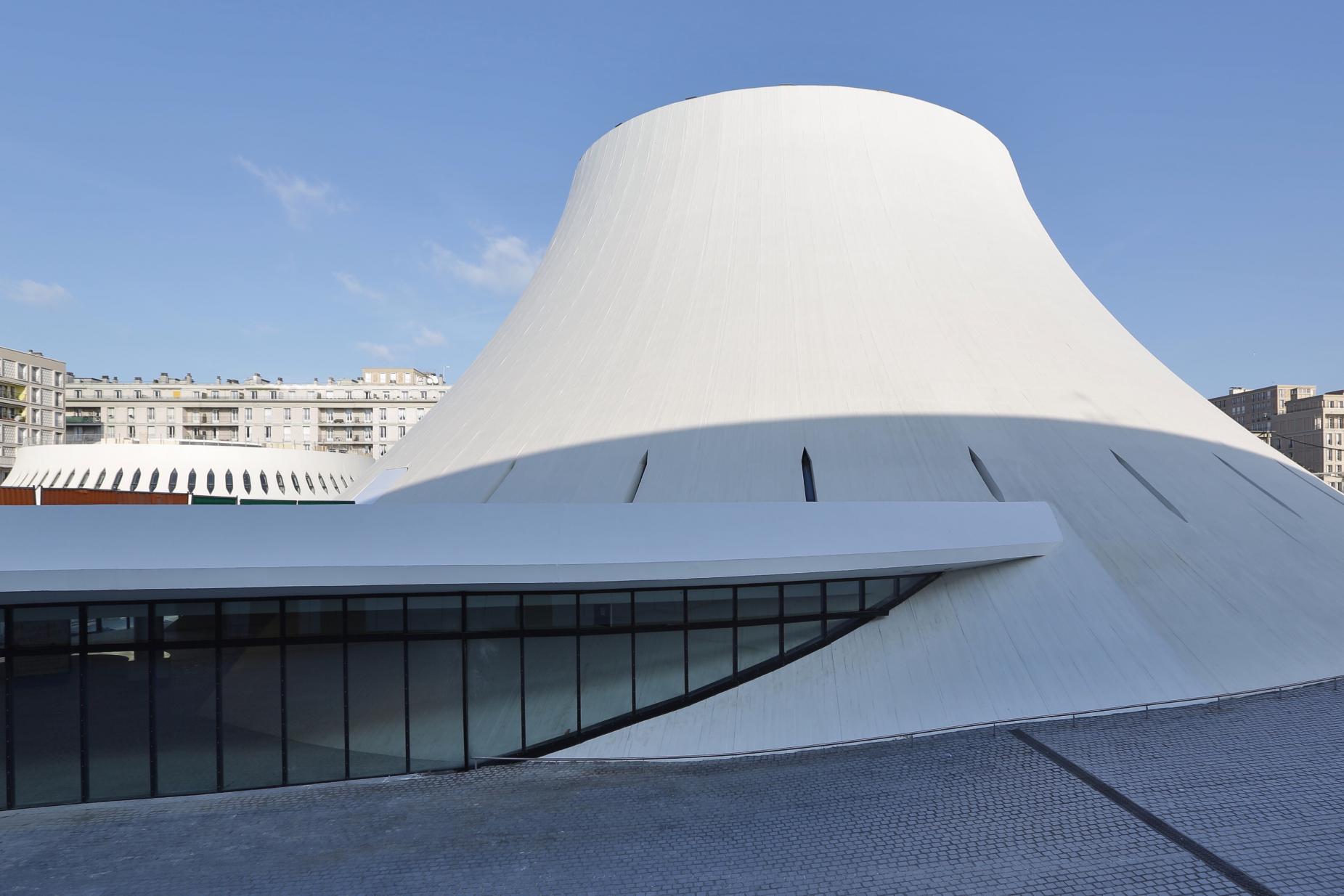 L Espace Oscar Niemeyer Le Havre