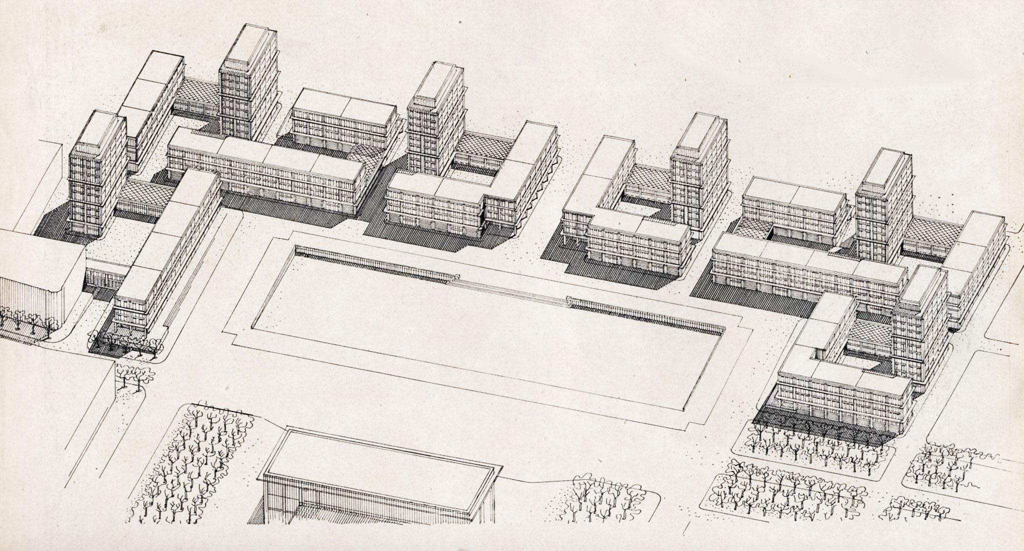 Le chantier de la reconstruction le havre for 3d architecture le havre